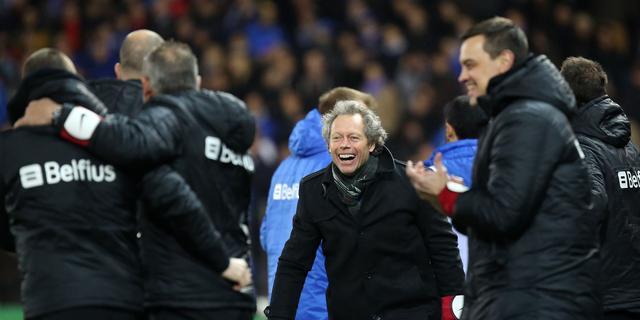Club Brugge behoudt titelkansen na winst op Lokeren