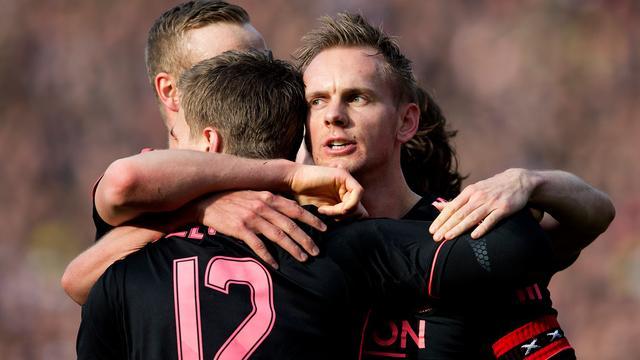 Ajax verslaat Feyenoord in De Kuip