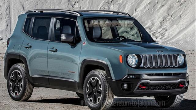 Jeep Renegade kleine versie van Amerikaans merk