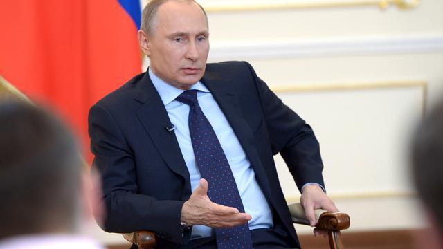 Poetin ziet militair ingrijpen Oekraïne als 'laatste toevlucht'