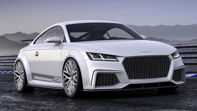 Audi presenteert TT Sport Concept