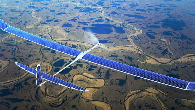 Facebook wil internet verspreiden via drones met lasers