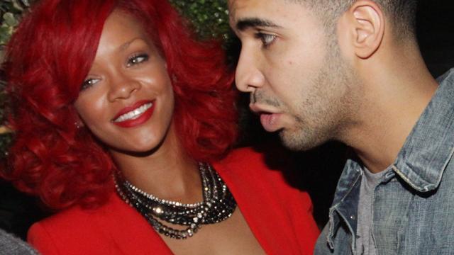 Rihanna en Drake hand-in-hand gezien