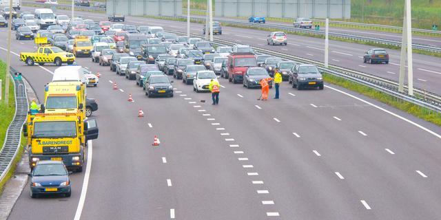 Verkeersproblemen rond Rotterdam vallen mee
