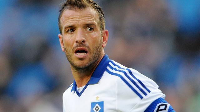 Van der Vaart hoopt op rentree tegen Bayern München