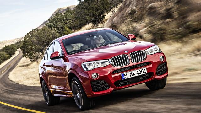 'BMW introduceert X4 M40i in 2016'