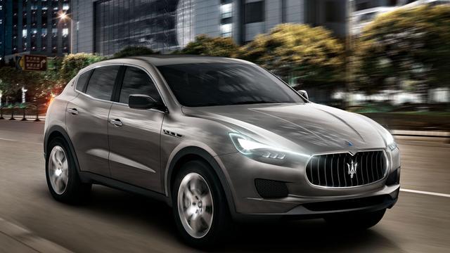 Maserati Levante krijgt ander uiterlijk