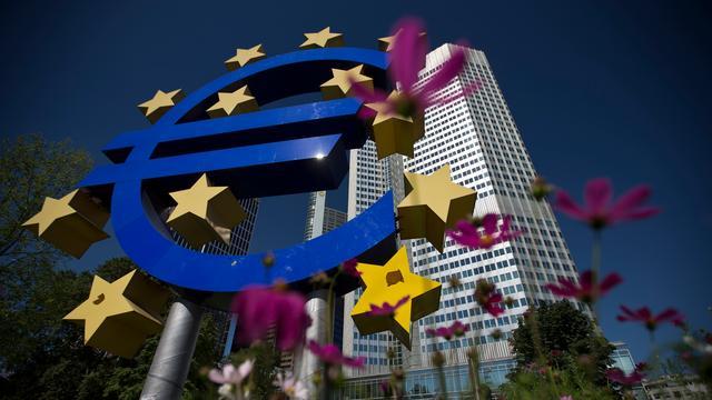 Overschot lopende rekening eurolanden omhoog