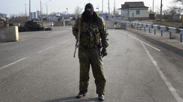 Overeenstemming Kiev en Moskou over 'bestand' op Krim