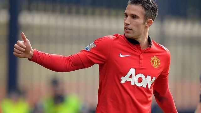 Van Persie wil contract verlengen bij Manchester United