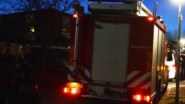 Brand in bedrijfsgebouw Honselersdijk