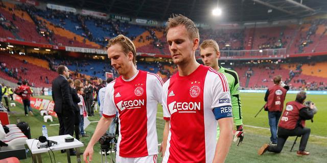 Siem de Jong baalt van 'slap' Ajax