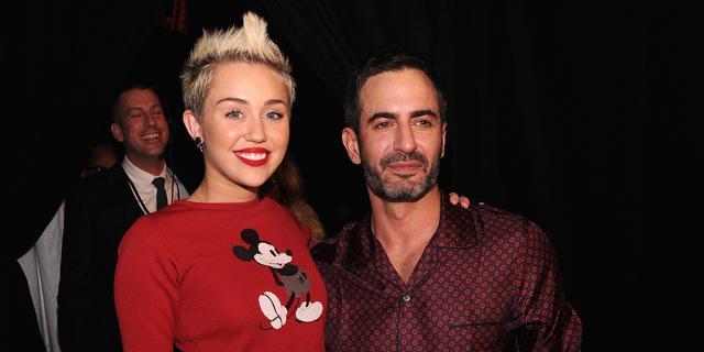 Campagnefoto's Miley Cyrus voor Marc Jacobs onthuld