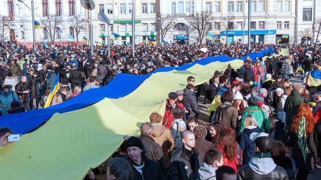 'Nationalisten zorgen voor wetteloosheid in Oost-Oekraïne'