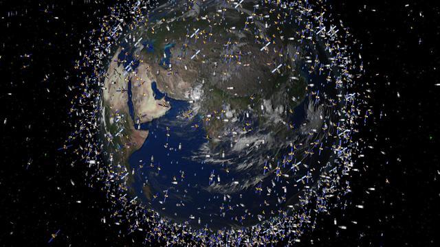 ISS wijkt uit voor ruimtepuin