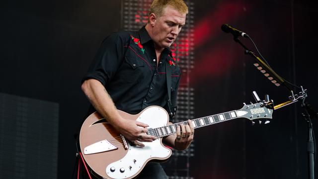 Bandleden Queens of the Stone Age nemen rust