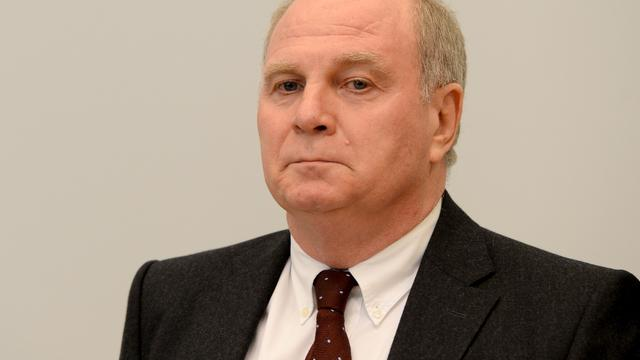 Belastingschuld Hoeness ruim 27 miljoen euro