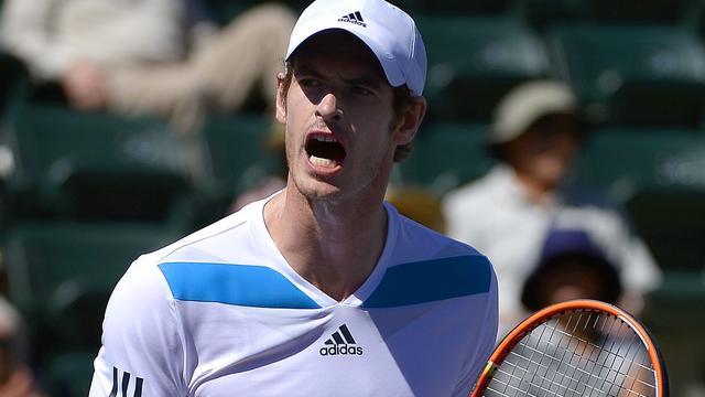 Murray en Federer moeizaam naar kwartfinale in Indian Wells