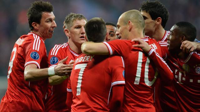 Bayern München en Robben verder ten koste van Arsenal