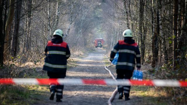 Nog steeds verhoogd risico op natuurbrand