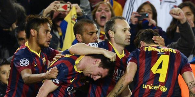 Xavi: 'Messi maakte weer het verschil'