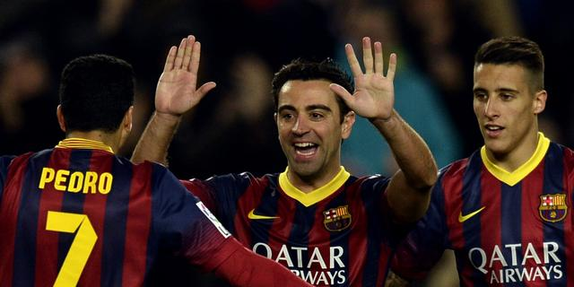 Messi vestigt doelpuntenrecord in Champions League