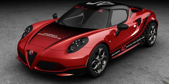 Alfa Romeo 4C wordt Safety Car bij WTCC
