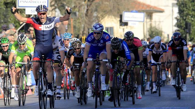 Pelucchi wint tweede etappe in Tirreno-Adriatico