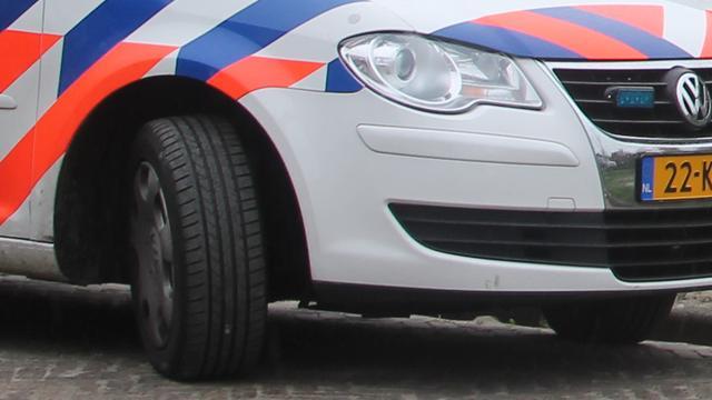 Automobilist gewond na achtervolging politie