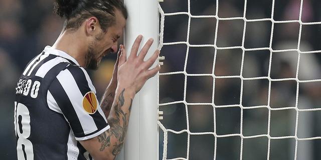 Juventus en Fiorentina in evenwicht, Spurs hard onderuit