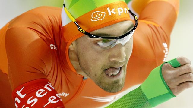 Nuis derde op afsluitende 1000 meter in Heerenveen