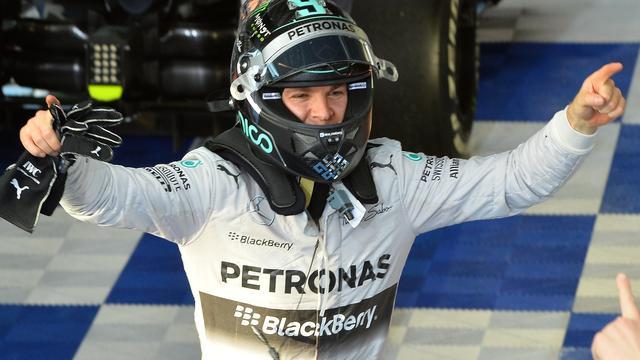 Rosberg wint openingsrace F1-seizoen in Australië