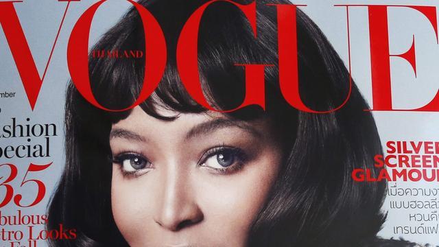 Lezeressen Vogue willen geen 'echte' vrouwen op de cover