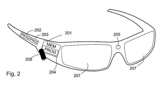 Nokia wil patent op slimme bril die handbeweging detecteert