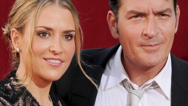 'Charlie Sheen en Brooke Mueller leggen ruzie bij'