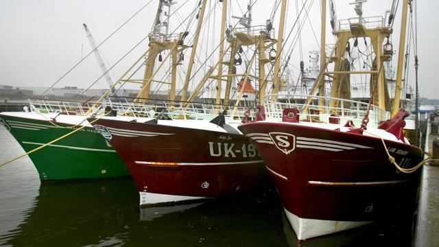 Urker vissers varen niet uit