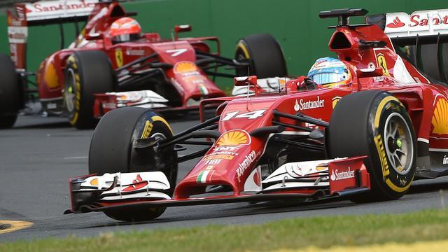 Alonso en Raikkonen onbezorgd over slechte start Ferrari