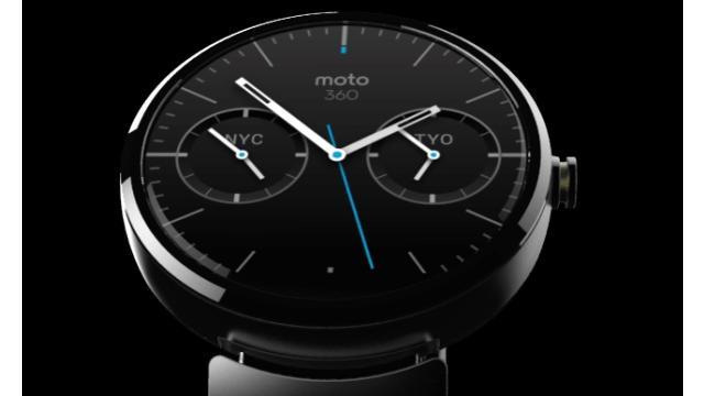 'Motorola-smartwatch krijgt saffierglas en is draadloos oplaadbaar'