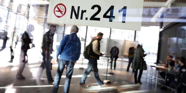 Treinreizigers kunnen stemmen op Rotterdamse stations