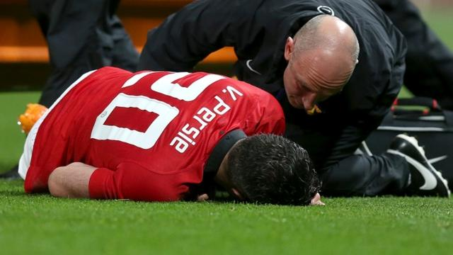 Manchester United verwacht dat blessure Van Persie meevalt
