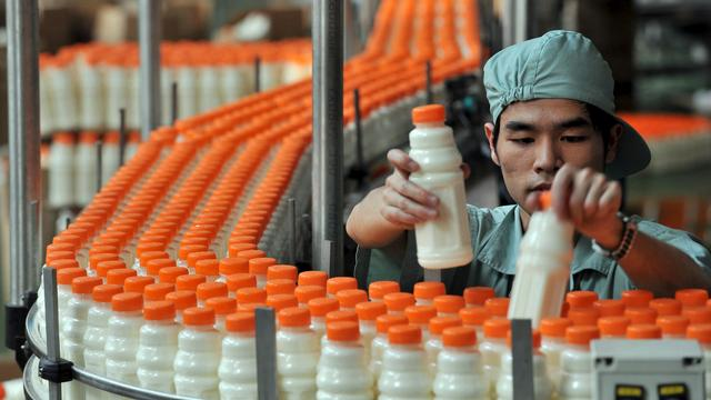 Langzame groei Chinese industrie