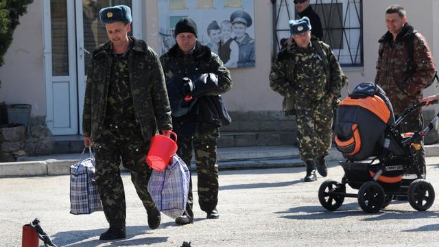Moskou geeft vrijgeleide militairen Oekraïne