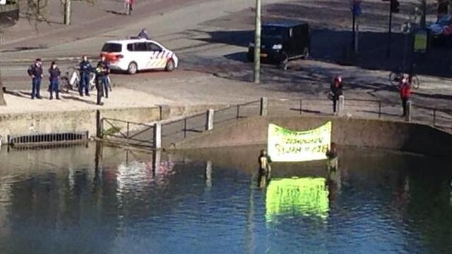 Arrestaties bij demonstraties tegen nucleaire top in Den Haag
