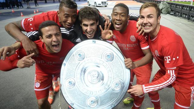 Bayern München verovert 24e landstitel in Duitsland