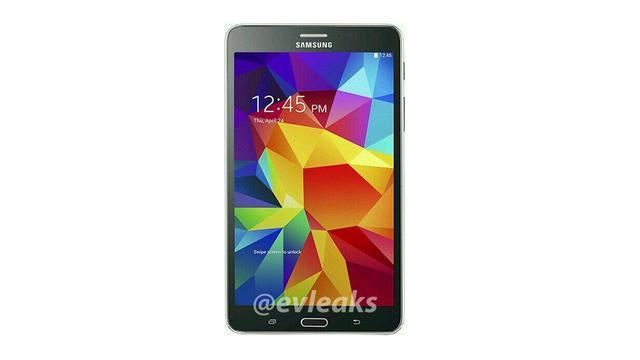 Gelekte foto's tonen nieuw uiterlijk Galaxy Tab 4