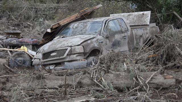 Siciliaanse stad Messina zonder water na modderstroom