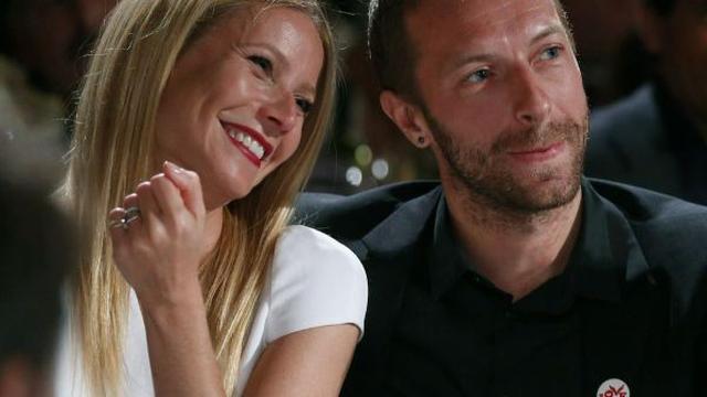 Chris Martin romantisch samen met Gwyneth Paltrow gezien