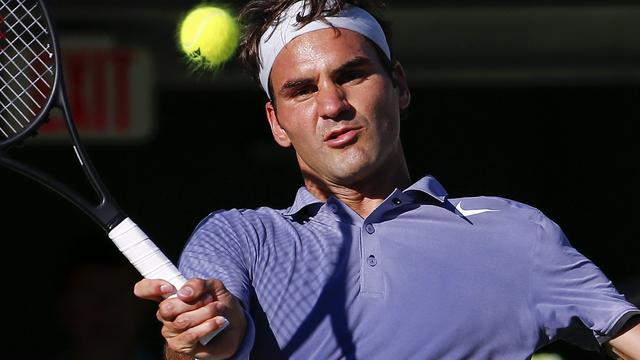 Federer, Djokovic en Murray naar kwartfinales in Miami