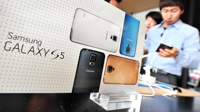 Samsung heeft last van overvolle smartphone-markt