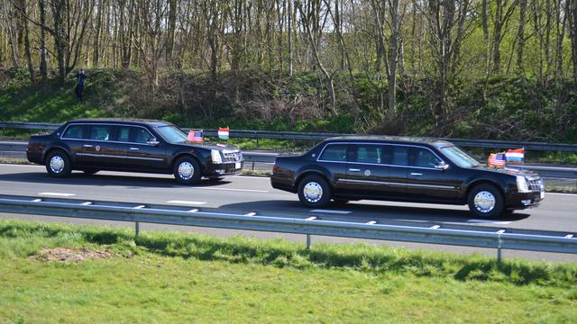 Achter de lens: Obama onderweg naar Den Haag
